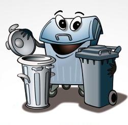 Vyvážení popelnic v letním režimu